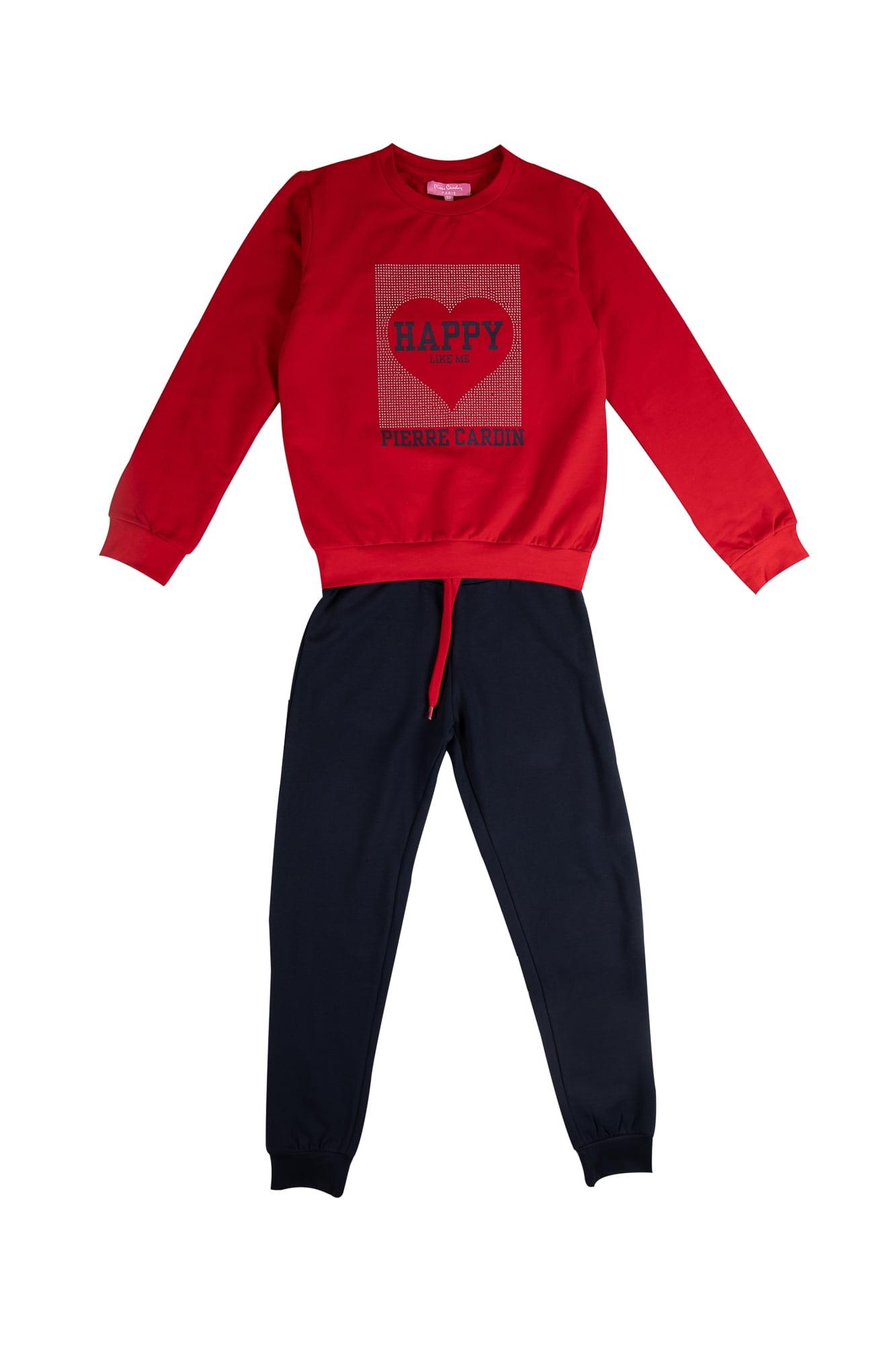 Tuta ragazza P.C. rosso/blu Pantalone Blu