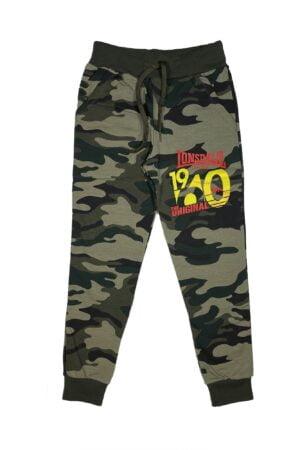 Pantalone tuta Lonsdale maschio verde militare