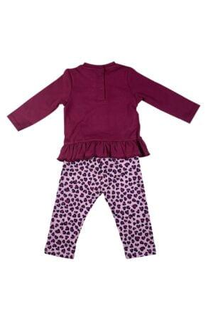 maglietta in caldo cotone e pantalone cotone felpato