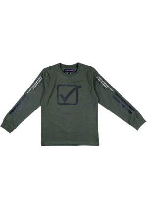 Maglietta Givova Verde army in caldo cotone