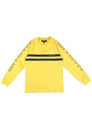 Maglietta Givova gialla in caldo cotone