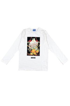 Maglietta Fortnite bianca in caldo cotone