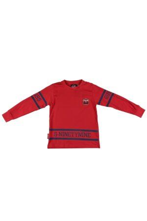 Maglietta maschio Guru Rossa in cotone