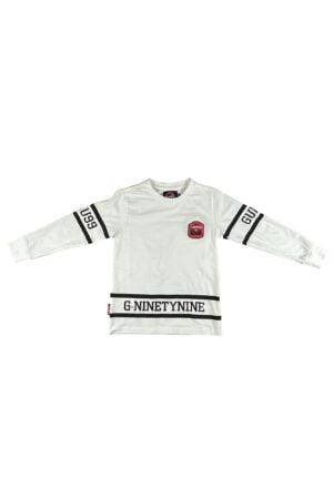 Maglietta maschio Guru Bianca in cotone